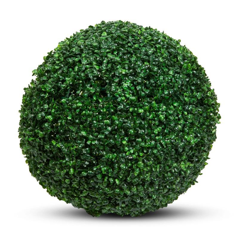 Cimisir decorativ Garden of Eden, 58 cm, protectie UV, Verde shopu.ro