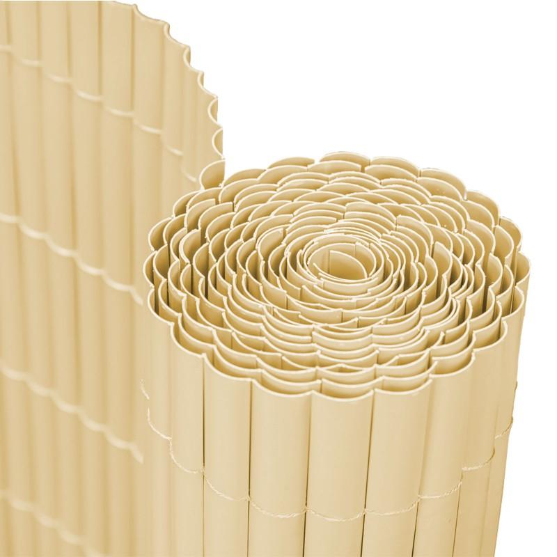 Garden of Eden trestie artificiala ecranare, 1.5 x 3 m, protectie UV, imitatie bambus, Crem shopu.ro
