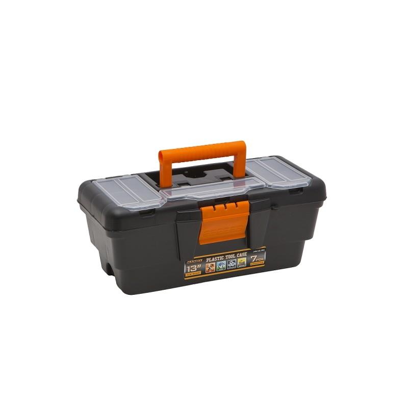 Geanta scule Handy, 13 inch, plastic, 3 compartimente 2021 shopu.ro