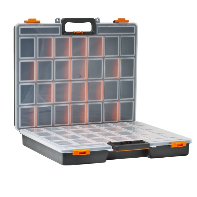 Organizator profesional dublu pentru accesorii Handy, 480 x 400 x 120 mm 2021 shopu.ro