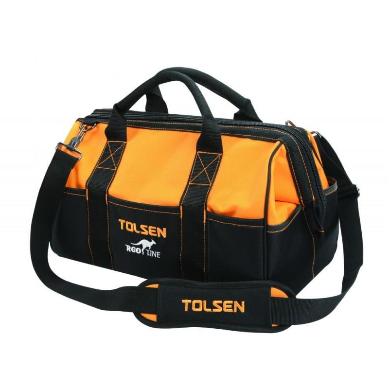 Geanta pentru unelte Tolsen Roo Line, curea reglabila inclusa 2021 shopu.ro