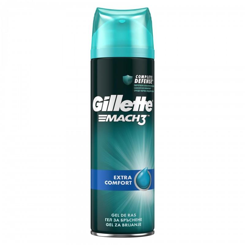 Gel de ras Gillette Mach3 Extra Comfort, 200 ml 2021 shopu.ro