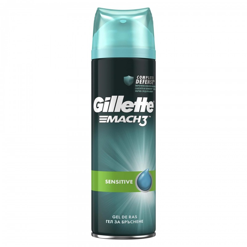 Gel de ras Gillette Series Pure&Sensitive, 200 ml 2021 shopu.ro