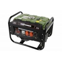 Generator curent electric Heinner, 2800 W, 4 timpi, 210 CC, 7 CP, 96 dB, 12 L, regulator voltaj, cadru metalic, benzina, Verde