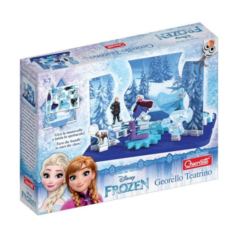 Jucarie interactiva Georello Teatru Frozen Quercetti, 3 ani+