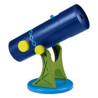 Telescop tip proiector Geosafari, portabil, lumina LED pentru citit si vedere nocturna
