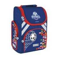 Ghiozdan Ergonomic Footbal Starpak, spate ergonomic, albastru