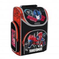Ghiozdan Ergonomic Transformers Starpak, 37 x 27 x 14.5cm, negru