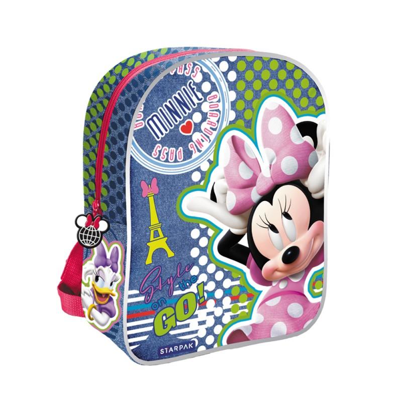 Ghiozdan Prescolari Minnie Mouse Starpak, aplicatii reflectorizante 2021 shopu.ro