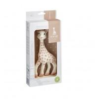 Jucarie pentru dentitie girafa Sophie Vulli, 21 cm, cauciuc, 0 luni+