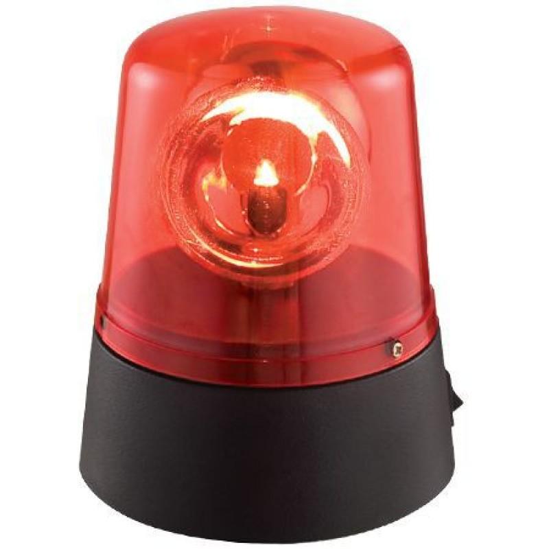 Girofar Ibiza Police pentru petreceri, LED, rosu