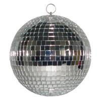 Glob cu oglinzi Madison, 51 cm, argintiu