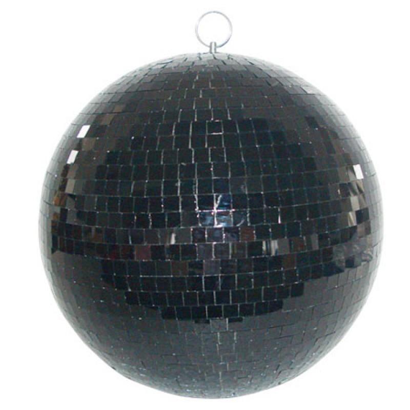 Glob cu oglinzi Madison, 20 cm, negru