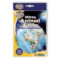 Glob pamantesc gonflabil cu animale Brainstorm Toys, 30 cm, Multicolor
