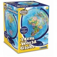 Glob pamantesc harta lumii Brainstorm Toys, 14 cm, Multicolor