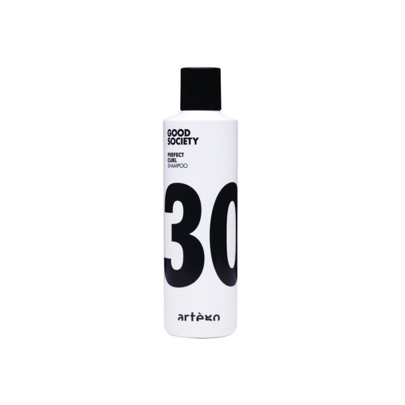 Sampon pentru par ondulat Artego Perfect Curl, 250 ml, extract acid glutamic 2021 shopu.ro