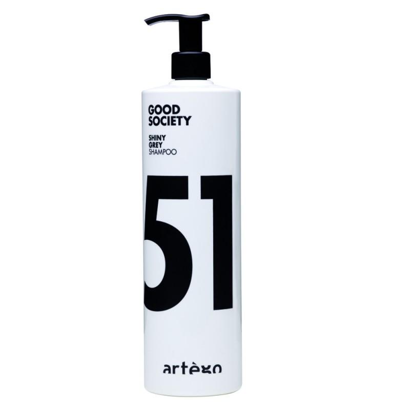 Sampon cu efect argintiu Shiny Grey Artego, 1000 ml, efect antioxidant si protector 2021 shopu.ro