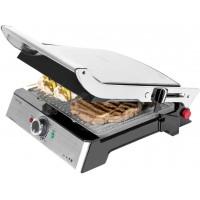 Gratar electric Cecotec 3 in 1 Rock n Grill Pro, 2000 W, LED, regulator putere, maner rece
