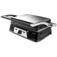 Gratar electric 2 in 1 Rock n Grill Cecotec Take Clean, 1500 W, LED, piatra antiaderenta