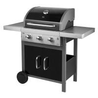 Gratar barbeque tip grill Master Teesa, 3 arzatoare, aprindere automata
