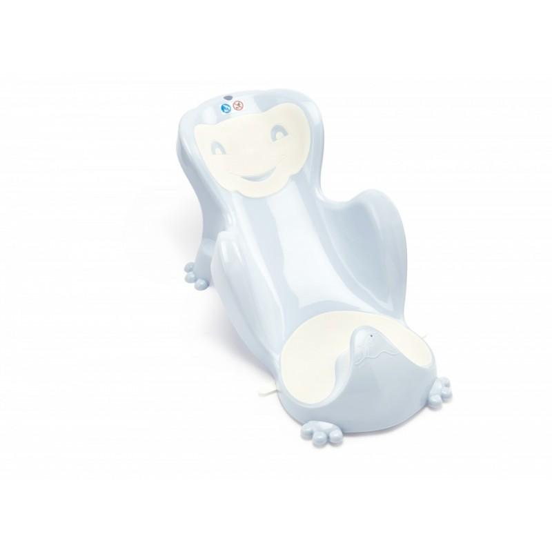 Hamac pentru baie Babycoon Thermobaby, plastic, maxim 8 kg, maxim 70 cm, 0-8 luni, model baby blue 2021 shopu.ro