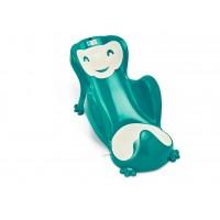 Hamac pentru baie Babycoon Thermobaby, plastic, maxim 8 kg, maxim 70 cm, 0-8 luni, model emerald