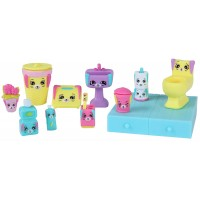 Set figurine Happy Places S1 Bathing Bunny, 5 ani+