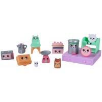 Set figurine Happy Places S1 Kitty Kitchen, 5 ani+