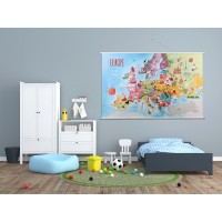 Harta Europei Tuloko TL006, 140 x 90 cm
