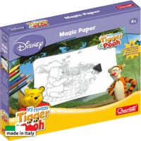 Joc educativ Hartia magica Winnie the Pooh Quercetti, 4 ani+
