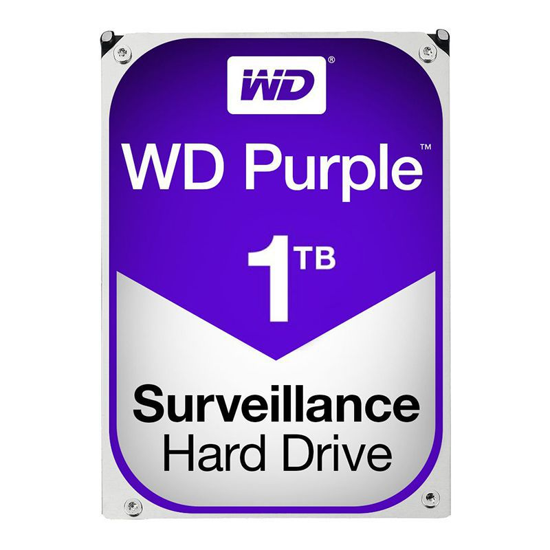 HDD Purple WesternDigital, 1TB, 5400 rpm, 64 MB, SATA 3 2021 shopu.ro