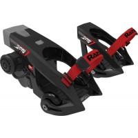 Heel wheels Razor Turbo Jetts, motor 80 W, 12 V, viteze integrate, 16 km/h, Negru/Rosu
