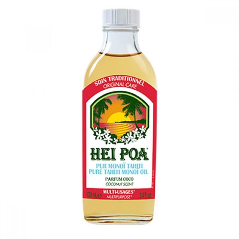 Ulei de Monoi cu parfum de Cocos Hei Poa, 100 ml, omega 9, vitamina E, omega 6 2021 shopu.ro