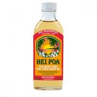 Ulei de Monoi cu parfum de Frangipani Hei Poa, 100 ml, omega 9, vitamina E, omega 6