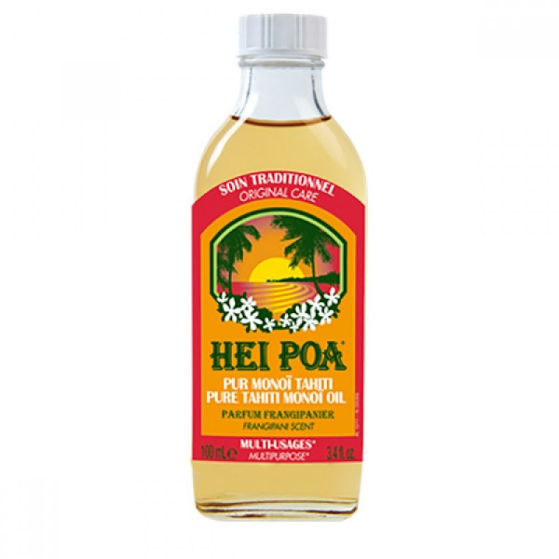 Ulei de Monoi cu parfum de Frangipani Hei Poa, 100 ml, omega 9, vitamina E, omega 6 2021 shopu.ro