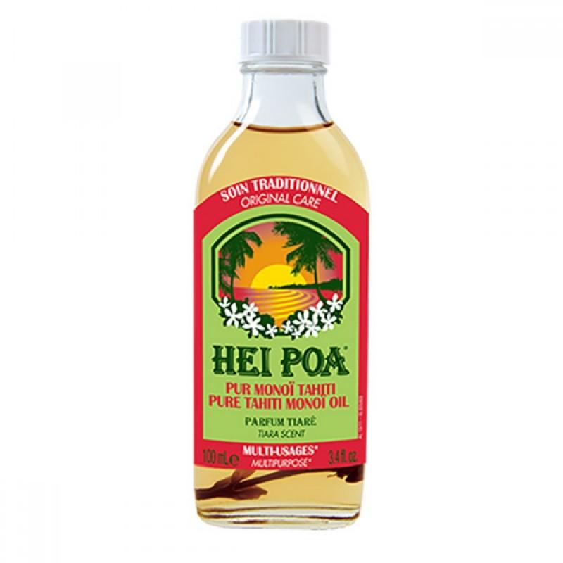 Ulei de Monoi cu parfum de Tiara Hei Poa, 100 ml, omega 9, vitamina E, omega 6 2021 shopu.ro