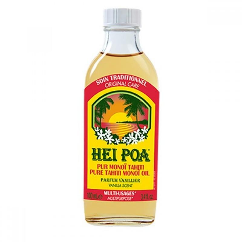 Ulei de Monoi cu parfum de Vanilie Hei Poa, 100 ml, omega 9, vitamina E, omega 6 2021 shopu.ro