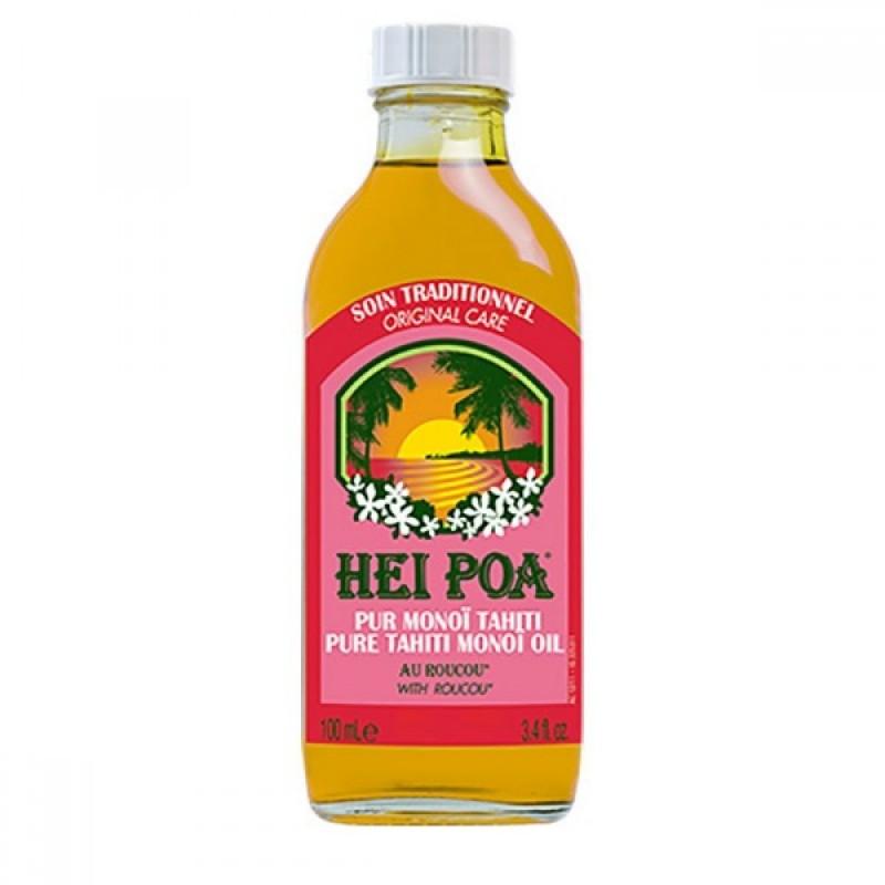 Ulei de Monoi cu Roucou Hei Poa, 100 ml, omega 9, vitamina E, omega 6 2021 shopu.ro