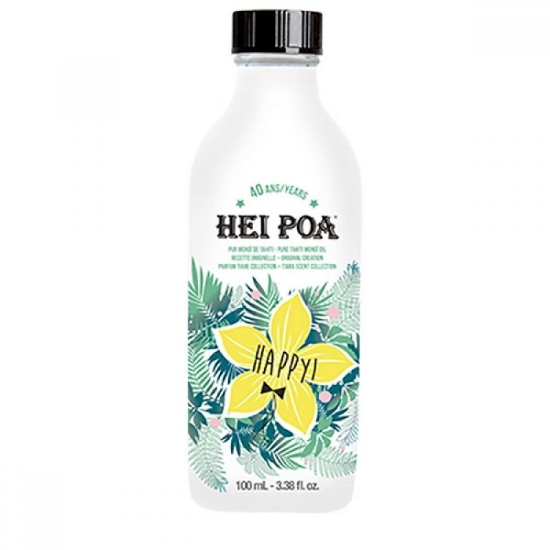 Ulei de Monoi Happy Hei Poa, 100 ml, omega 9, vitamina E, omega 6 2021 shopu.ro