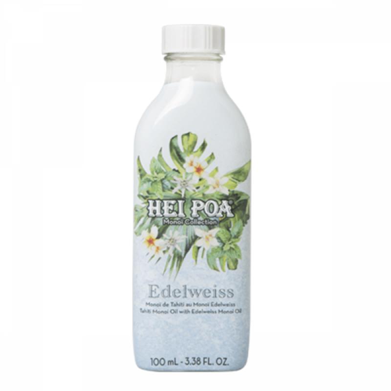 Ulei de Monoi Floare de Colt Hei Poa, 100 ml, omega 9, vitamina E, omega 6 2021 shopu.ro