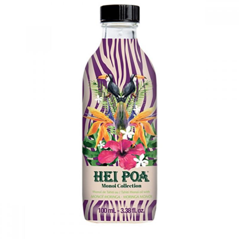 Ulei de Monoi cu Monoi de Moringa Hei Poa, 100 ml, omega 9, vitamina E, omega 6 2021 shopu.ro