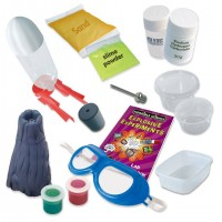 Kit experimente explozive Horrible Science Galt, racheta, vulcan din plastic, 8 ani+