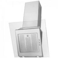 Hota decorativa Hansa, 340 m3/h, 2 x 20 W, 3 viteze, filtru aluminiu, Argintiu