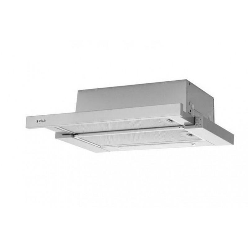 Hota de bucatarie Slimmy Elica, 60 cm, 304 m³/h, lumina LED, Argintiu