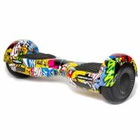 Hoverboard Complete Lite Freewheel, 2 x 200 W, autonomie 8-12 km, Bluetooth, LED-uri, difuzoare incluse, maxim 50 kg, Multicolor