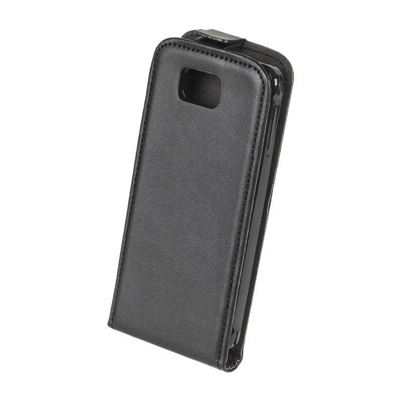 Husa dedicata telefon Samsung Galaxy Alpha, Negru 2021 shopu.ro