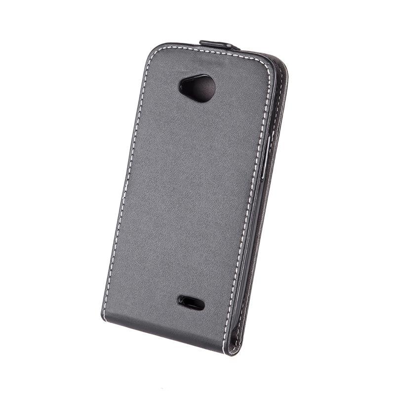 Husa dedicata telefon LG L90, Negru 2021 shopu.ro
