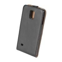 Husa dedicata telefon Samsung Galaxy Note, Negru