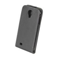Husa dedicata telefon Samsung Galaxy S4, Negru