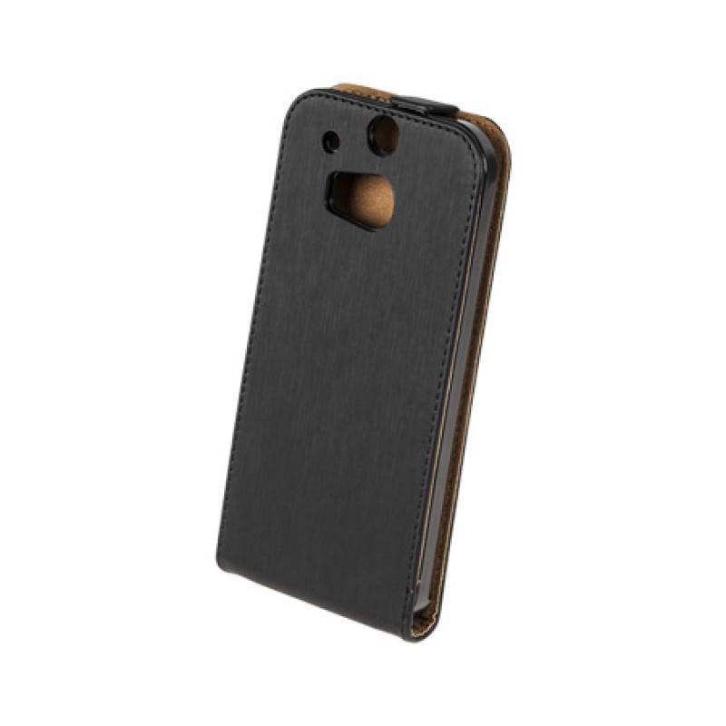Husa Flip telefon HTC ONE M8, Negru